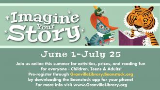 Imagine Your Story Summer Library Program 2020