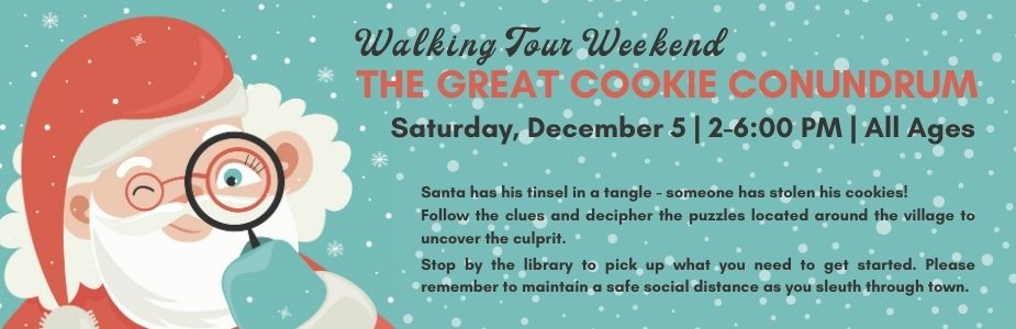 12-5 Walking Tour Weekend: The Great Cookie Conundrum