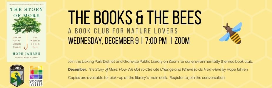 12-9 Books & the Bees Book Club